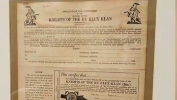 Michigan cop put on leave after KKK application allegedly found in home