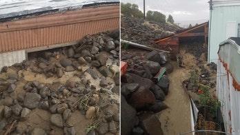 Mudslide swamps Washington neighborhood, destroys 3 homes