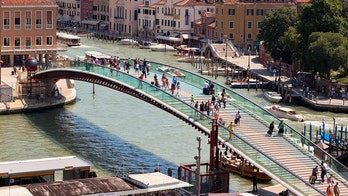 Venice bridge architect fined nearly $90G because design can't handle tourist crowds