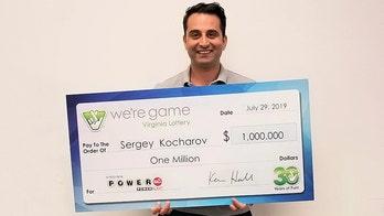 Washington Capitals official wins $1 million Powerball prize