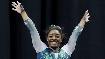 Simone Biles makes history with balance beam dismount at US women's gymnastics championship