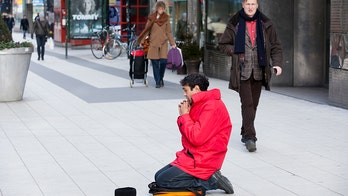 Swedish town implements $26 'begging permit'
