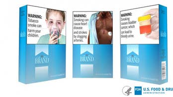 Cigarette packages would feature color images, new health warnings under FDA proposal