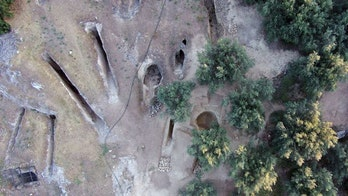 Grave robbers missed these ancient Greek graves