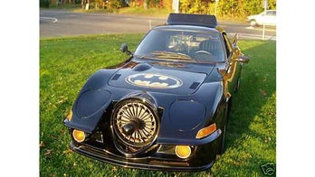 Caped Crusader fan selling unique Batmobile tribute car on Craigslist