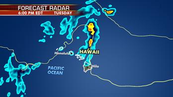 Showers, enhanced surf continue across Hawaii
