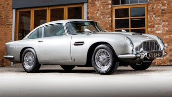 'James Bond' Aston Martin DB5 sold for record $6.4 million