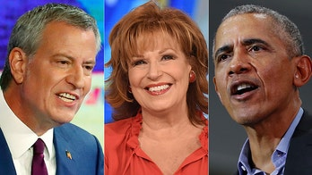 Behar presses de Blasio on going after Obama at debate: 'Do you have to do it in public?'