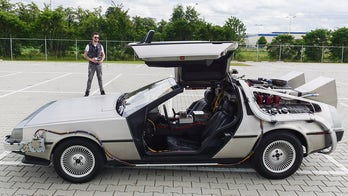 Inventor builds remote-controlled DeLorean that can go 99 mph, but still doesn't time travel