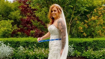 Bride claims she lost 30 pounds before wedding without exercise