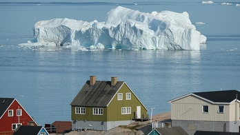 Photos from Greenland reveal worrying cost of European heat wave