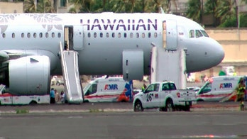 Hawaiian Airlines flight lands early due to smoke in cabin; 7 hospitalized