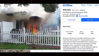 Florida realtor catches heat for advertising home with fiery photo