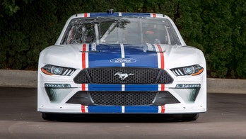 2020 Ford Mustang Xfinity NASCAR car unveiled