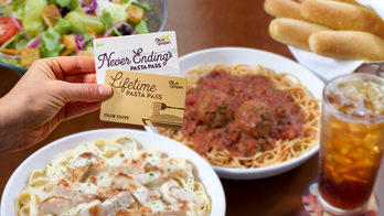 Olive Garden offering Lifetime Pasta Passes, but only for 50 diners willing to fork over enough dough