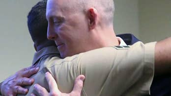 Marine describes reunion with hero FBI agent who rescued him from kidnapper