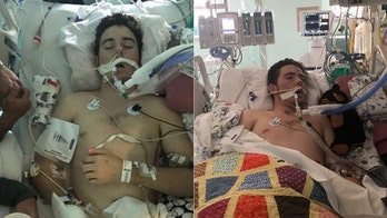 Teen hospitalized with vape-related health scare: 'Machines were keeping Tryston alive'