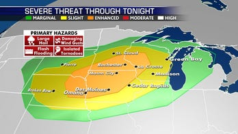 Strong storms possible for Northern Plains