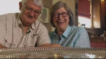 Couple is still eating their wedding cake, 49 years later