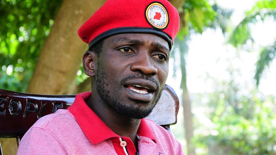 Ugandan musician-turned-politician Bobi Wine charged with 'annoying' president