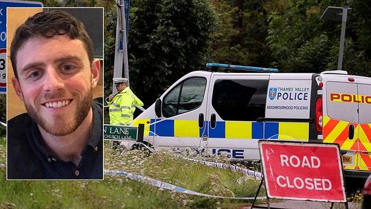 Newlywed British police officer murdered investigating burglary; boy, 13, among 10 arrested