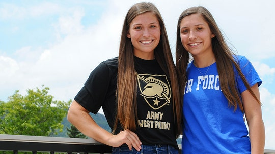 Twin sisters from Texas split to attend separate US military academies