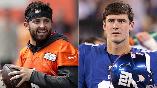 Cleveland Browns' Baker Mayfield rips media for 'click bait' stories about his own Daniel Jones criticism
