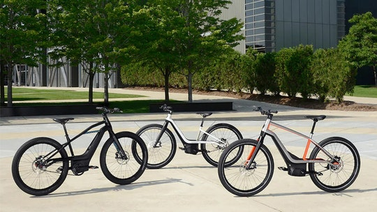 Harley-Davidson unveils new electric bicycle designs