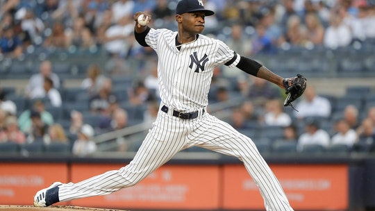 German becomes majors first 16-game winner as Yanks beat O's