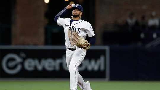 San Diego Padres' Fernando Tatis Jr makes incredible snare at shortstop