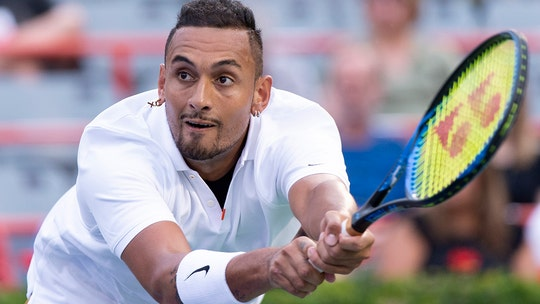 Australian tennis star Nick Kyrgios follows up tournament outburst with another one