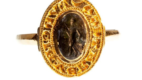 Man unearths 670-year-old medieval ring: 'What a piece of history'