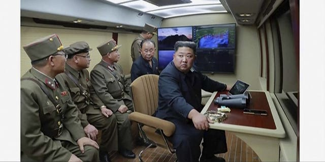 Westlake Legal Group 1000-11 North Korea says Kim Jong Un supervised third weapons test this week in a bid to keep pressure on US, South Korea Lukas Mikelionis fox-news/world/world-regions/south-korea fox-news/world/conflicts/north-korea fox-news/person/kim-jong-un fox news fnc/world fnc article a28633a8-bebe-560d-9e58-b60373489e21