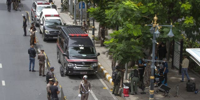 Westlake Legal Group 1000-7 Bangkok bombs injure 4 as Thailand hosts ASEAN summit with Pompeo Lukas Mikelionis fox-news/world/world-regions/asia fox news fnc/world fnc article 97c88001-a793-513b-8995-28cd85392e20