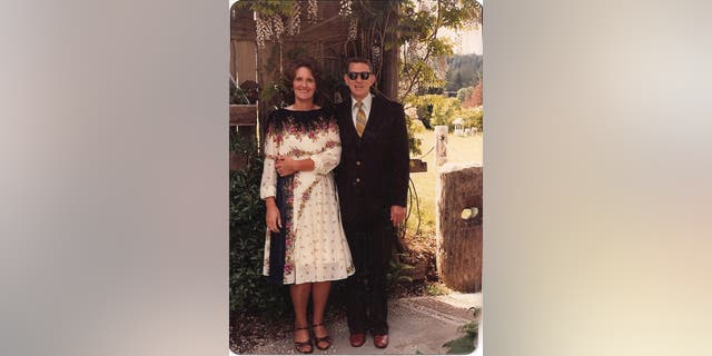 Delilah's parents, circa 1982.