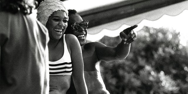 Miles Davis and Frances Taylor enjoy the South of France in 1963.