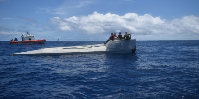 The bust took place in the Eastern Pacific Ocean. (U.S. Coast Guard)