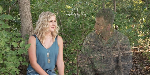 Always there: Soldier killed in Afghanistan appears in daughter's senior pictures