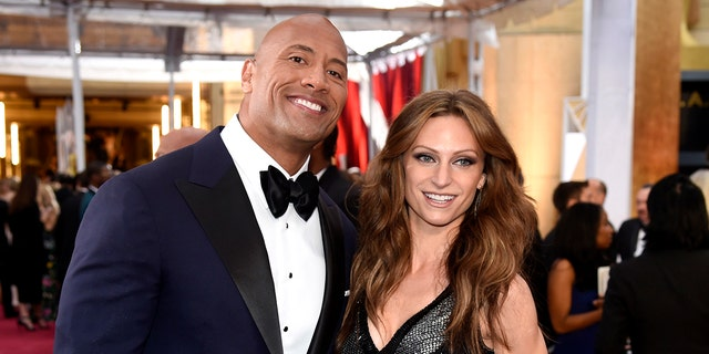 Dwayne Johnson and Lauren Hashian have been together since 2007 and share daughters Tiana, 1, and Jasmine, 3. (Photo by Chris Pizzello/Invision/AP, File)