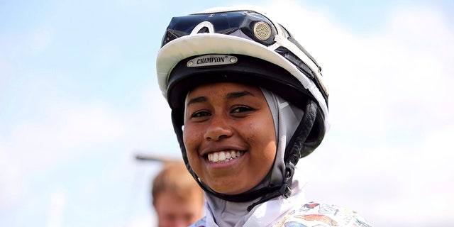 British jockey to make history by racing at Goodwood in hijab