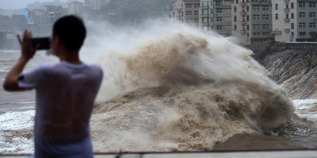 Westlake Legal Group AP19222269280432 Typhoon Lekima strikes China's east coast, kills at least 18 Lucia Suarez Sang fox-news/world/world-regions/china fox-news/world/world-regions/asia fox-news/world/disasters/hurricanes-typhoons fox-news/weather fox news fnc/world fnc b1a221b5-101b-5ad7-b9b7-764ca30f0f7d article
