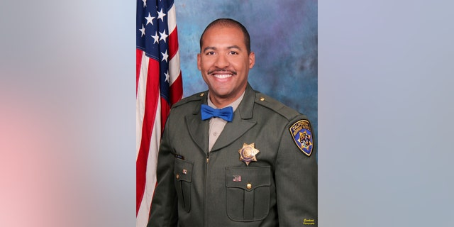 Officer Andre Moye Jr. is shown in an undated photo. (California Highway Patrol)