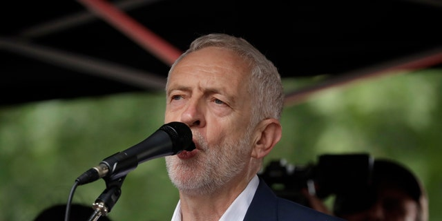 Labour Party personality Jeremy Corbyn wrote to leaders of other parties and backbenchers to lay out his devise to stop Johnson, who became primary apportion final month, from holding a U.K. out of a E.U. in Oct though a grave withdrawal agreement.