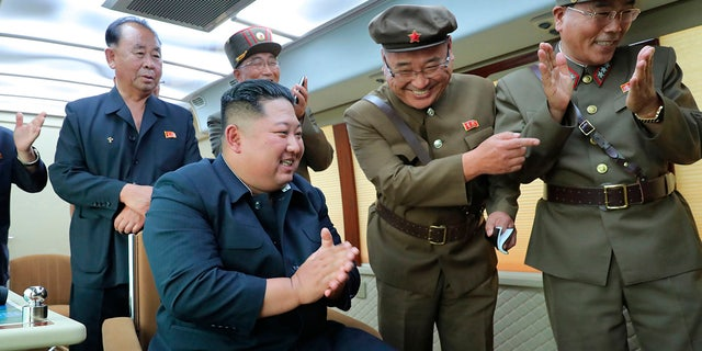 Westlake Legal Group AP19229002043127 North Korea's Kim Jong Un expresses 'great satisfaction' over latest weapons tests fox-news/world/world-regions/south-korea fox-news/world/conflicts/north-korea fox-news/person/kim-jong-un fnc/world fnc d4b01c71-6838-5e57-a04c-22c6b9f52c22 Associated Press article