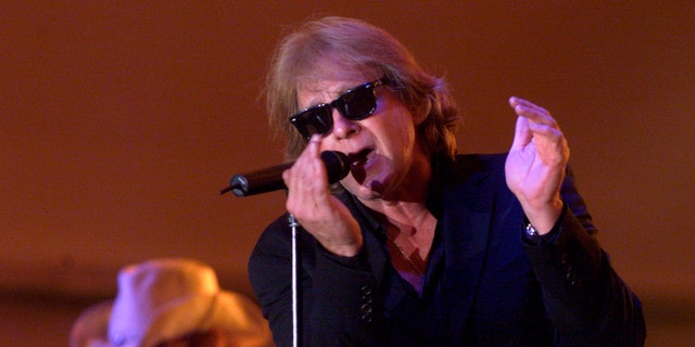 Eddie Money performs under the Stars during the Grandstand at the Diamond Jo Casino in Dubuque, Iowa.