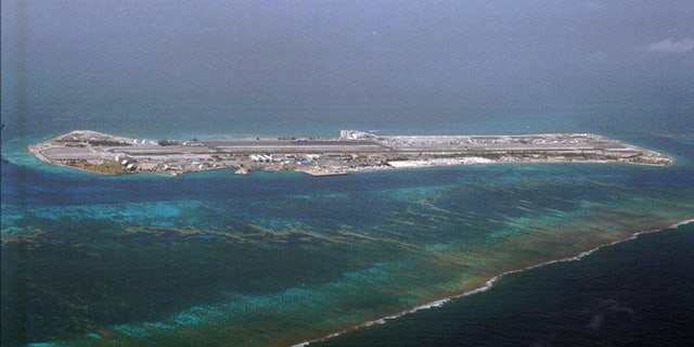 Johnston Island, part of Johnston Atoll is 825 miles southwest of Honolulu. (AP Photo/Ronen Zilberman, File)