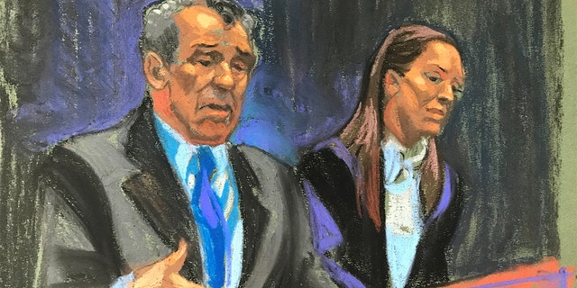 Multiple women appeared in a New York courtroom Tuesday asking prosecutors to go after those who enabled Epstein's crimes