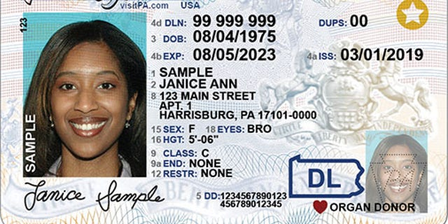 Westlake Legal Group Adult_DL_PA Pennsylvania to become latest state offering gender-neutral IDs Talia Kirkland fox-news/us/us-regions/northeast/pennsylvania fox-news/auto fox news fnc/us fnc article a75abbf3-df8d-5fdc-b087-728cfbcbc645