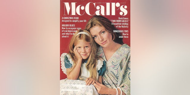 Aimee and Jennifer O'Neill on the cover of McCall's, circa 1972.
