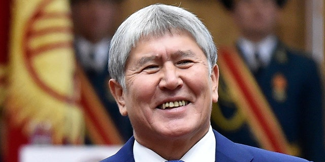 Atambayev was charged with murder Tuesday following raids on his compound that left one police officer dead, according to reported.